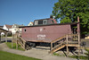 Former Pennsylvania RR  Type N5c streamlined cupola caboose