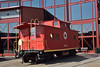 Lehigh & New England Class NE all steel caboose No. 583