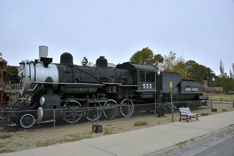 Union Pacific Class C-57 2-8-0 No.533