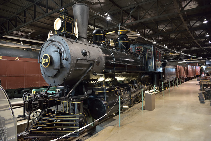 PRR Class H3 2-8-0 No.1187 built 1888<br /> <br /> Railroad Museum of Pennsylvania<br /> Strasburg. PA