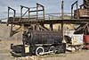 H. K. Porter compressed air powered, 18 inch gauge mine locomotive<br /> <br /> Museum of Mining, Butte