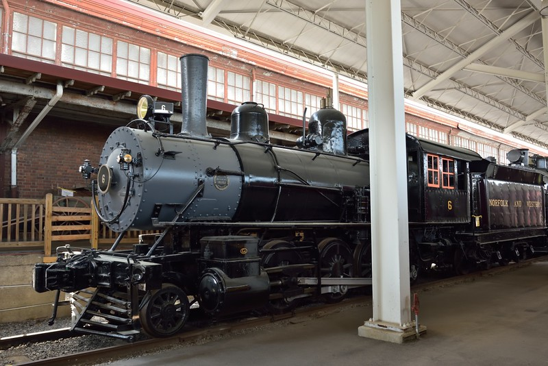 Norfolk & Western Class G1 2-8-0 'Consolidation' No.6<br /> built by Baldwin in 1897 as a 'banker' loco.<br /> <br /> Virginia Museum of Transportation <br /> Roanoke. VA<br /> <br /> 14 May 2015