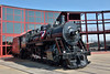 Illinois Central 2-8-0 No.790<br /> Built by ALCO in 1903, works No.28686<br /> Sits in the sunshine outside the roundhouse.<br /> <br /> Steamtown, Scranton.PA<br /> 10   May 2015
