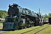 Chesapeake & Ohio Class J-3a  'Greenbrier' 4-8-4 No.614 one of the largest 4-8-4s built in the US<br /> <br /> Clinton Forge, VA.<br /> <br /> <br /> 13  May 2015