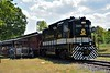 Southern Railway GP30 No.2601 waits at Barber Junction Visitor center while its passengers board for a trip through the museum site.<br /> <br /> NC Transportation Museum<br />  Spencer, NC