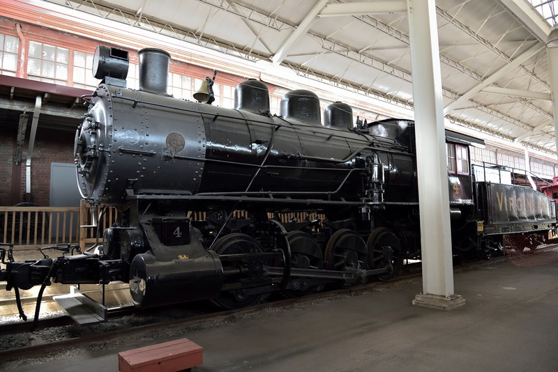 Virginian Railway SA class 0-8-0 'Switcher ' loco No.4<br /> originally built by Baldwin around 1909<br /> <br /> Virginia Museum of Transportation <br /> Roanoke. VA<br /> <br /> 14 May 2015