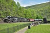 SD40E Nos.6331 / 6326 grind their way across the mountains with a long mixed freight from Altoona.<br /> <br /> Horseshoe Curve Park<br /> Altoona PA.