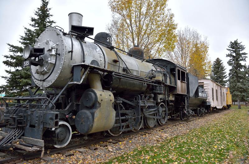 Union Pacific 2-8-0 No.535