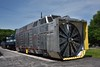 Union Pacific Rotary Snowplow No. 90081 built in 1966<br /> The biggest, heaviest rotary plow made, with 12-foot cutting wheel and 3,000-hp engine to turn it using diesel-electric drive; weighs 376,400 lbs. fully loaded<br /> <br /> The Museum of Transportation St Louis.MO.<br /> 19 May 2015