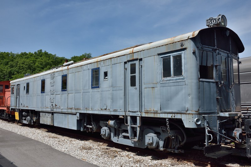 Baltimore & Ohio 1800 hp diesel loco No.50  <br /> built by EMC in 1935 <br /> <br /> The Museum of Transportation St Louis.MO.<br /> 19 May 2015