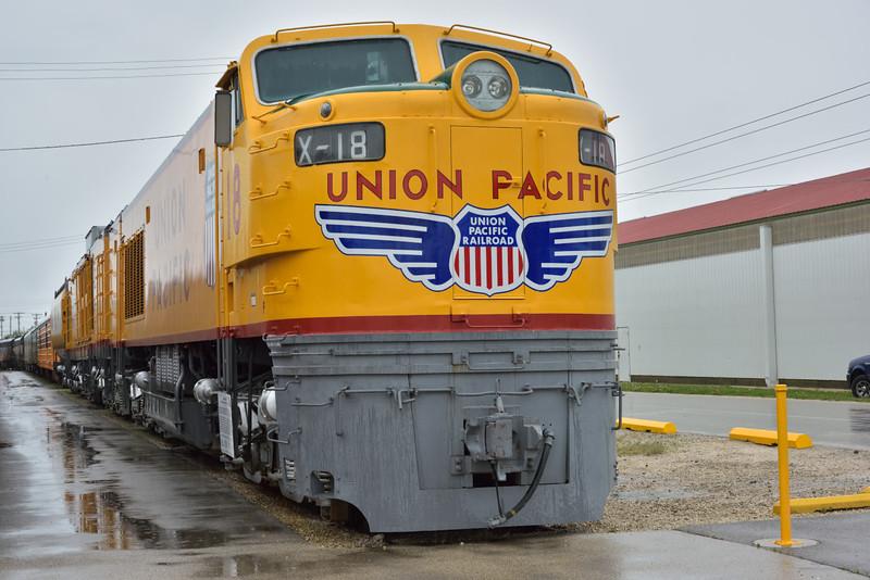 Union Pacific Model 8500  No. X-18