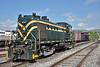 Jersey Central Lines ALCO RS3  No.1554<br /> <br /> Steamtown. Scranton. PA.<br /> 10 May 2015