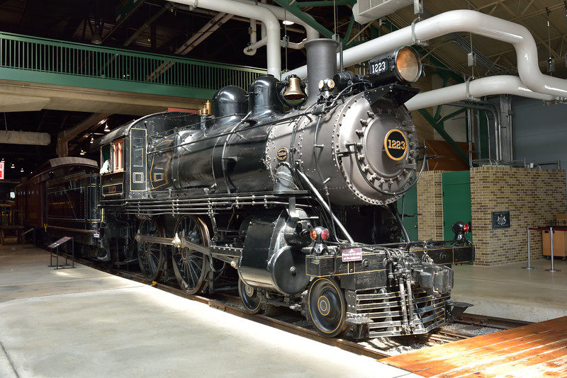 PRR Class D16sb 0-4-0 No.1223 Built 1905<br /> <br /> Railroad Museum of Pennsylvania<br /> Strasburg. PA