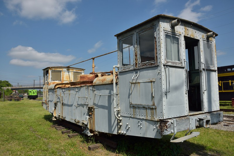 Panama Canal Mule No.686<br /> one of forty units built by GE in 1914 for the Panama Canal Company<br /> <br /> Virginia Museum of Transportation <br /> Roanoke. VA<br /> <br /> 14 May 2015