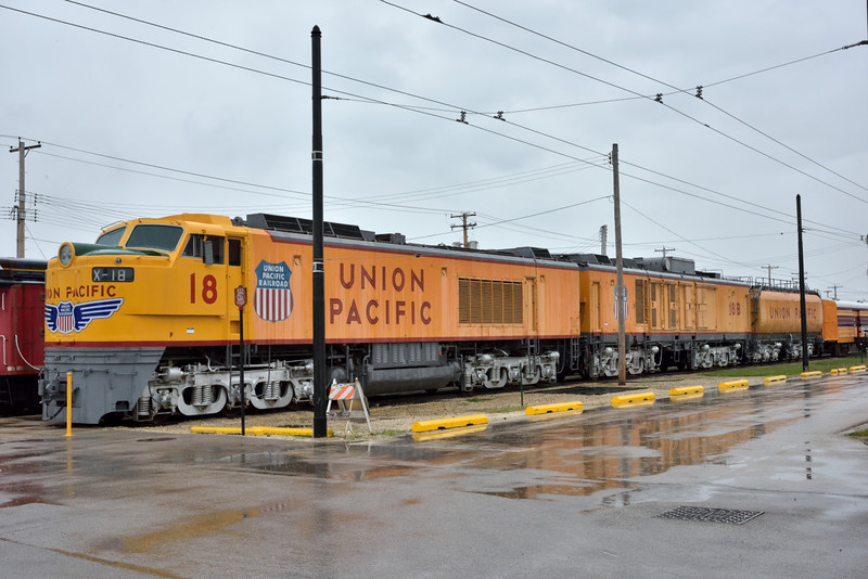 Union Pacific Model 8500  No. X-18