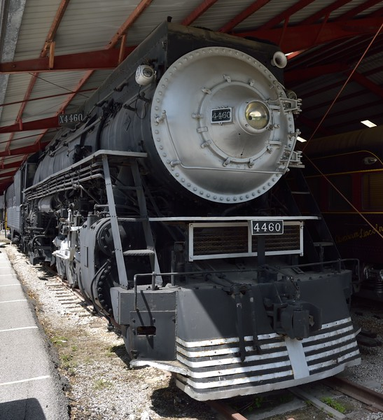 Southern Pacific 4-8-4  Class GS-6 'Northern' No.4460<br /> built in 1943 by Lima,  Works No. 8013<br /> <br /> The Museum of Transportation St Louis.MO.<br /> 19 May 2015