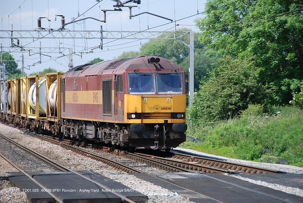 Loco 60036 070605 Acton Bridge [jg]