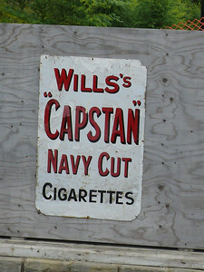 Old Sign - Bolton Abbey Station [Wills's Cigarette's] 100728