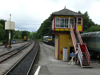 Signal Box 100728 Bolton Abbey