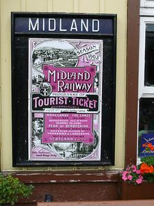 Midland Railway Hoarding 100728 Bolton Abbey
