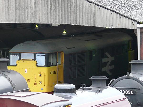 Diesel Loco 31108 110903 Wansford