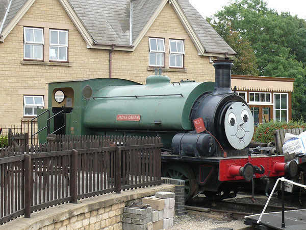 Steam Loco Jacks Green 110903 Wansford