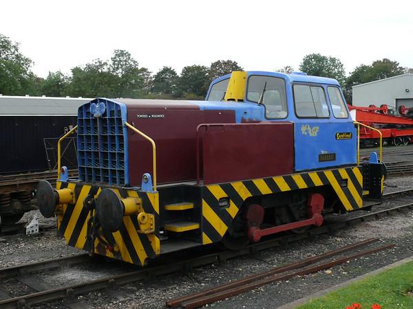 Diesel Loco Barabel 110903 Wansford
