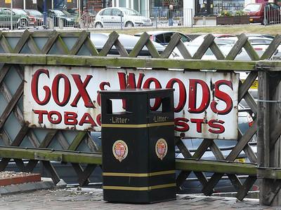 Old Sign, Sheringham Station [Cox & Woods] 110616