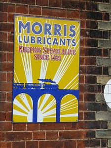 Old Sign, Sheringham Station [Morris Lubricants] 110616