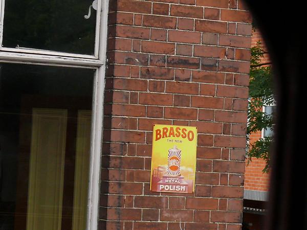 Old Sign, Holt Station [Brasso] 110616