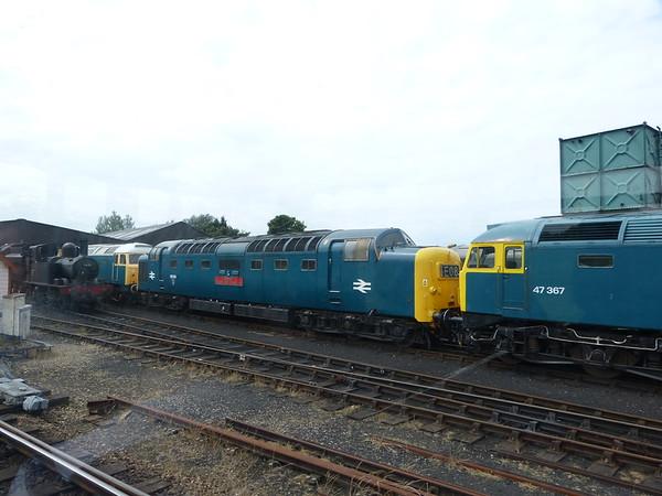 Diesel Loco 55019 120625 Weybourne