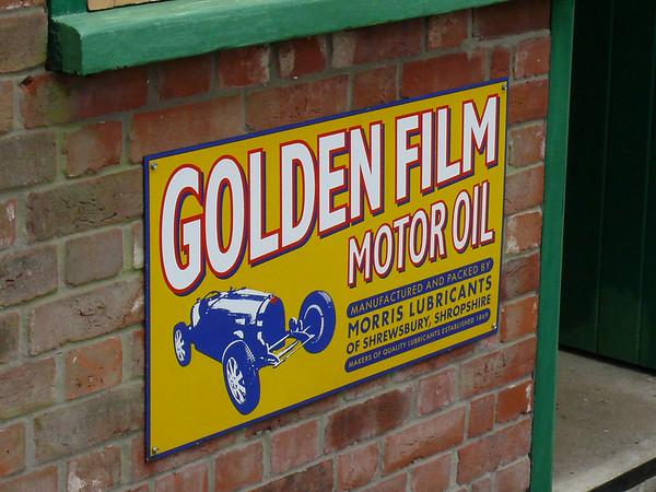 Old Sign, Holt Station [Golden Film Motor Oil] 110616