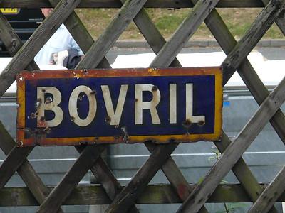 Old Sign, Sheringham Station [Bovril] 110616