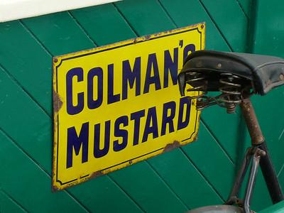 Old Sign, Sheringham Station [Colmans Mustard] 110616