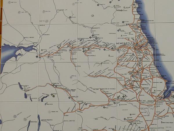 North Eastern Railway Map 110427 Pickering