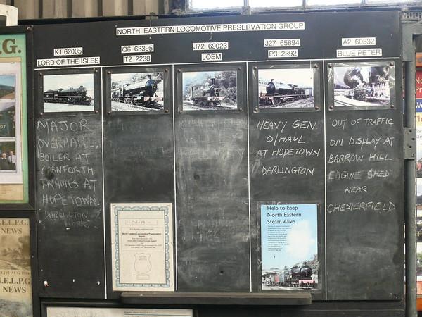 North Eastern Locomotive Preservation Group 110427 Grosmont