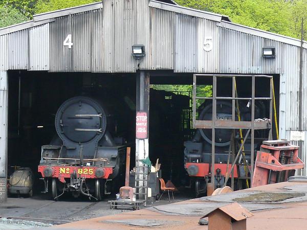 Engine Shed 110427 Grosmont