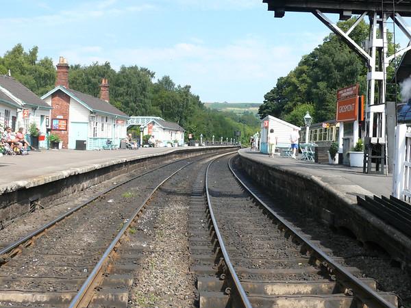 Grosmont Station 110803