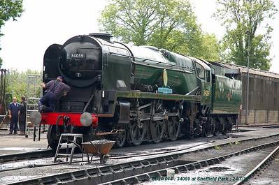 Various Preserved Steam Railways