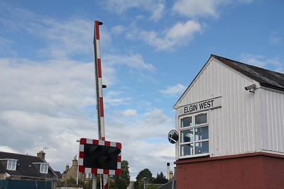 Elgin West Signal Box 8 Sep 17