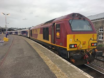 Caledonian Sleeper_EWS 67020 Inverness Station Aug 17