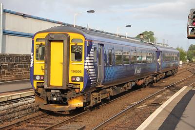 Scotrail 156506 KIlmarnock Railway Station Sep 18