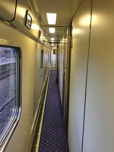 Caledonian Sleeper Corridor 01 Aug 17