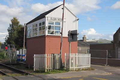 Elgin West Signal Box 2 Sep 17