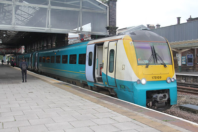 Arriva Trains Wales 175109 Chester Railway Station Sep 17