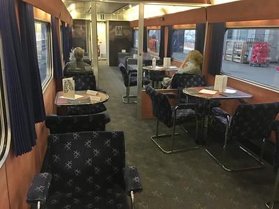 Caledonian Sleeper Lounge 02 Aug 17