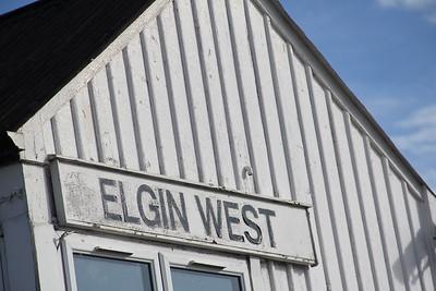 Elgin West Signal Box 3 Sep 17