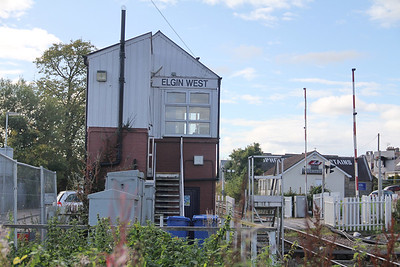 Elgin West Signal Box 9 Sep 17