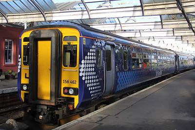 Scotrail 156462 Kilmarnock Railway Station 1 Sep 18