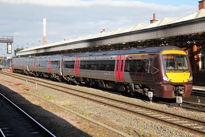 Cross Country 170110 Nottingham Station Jun 18